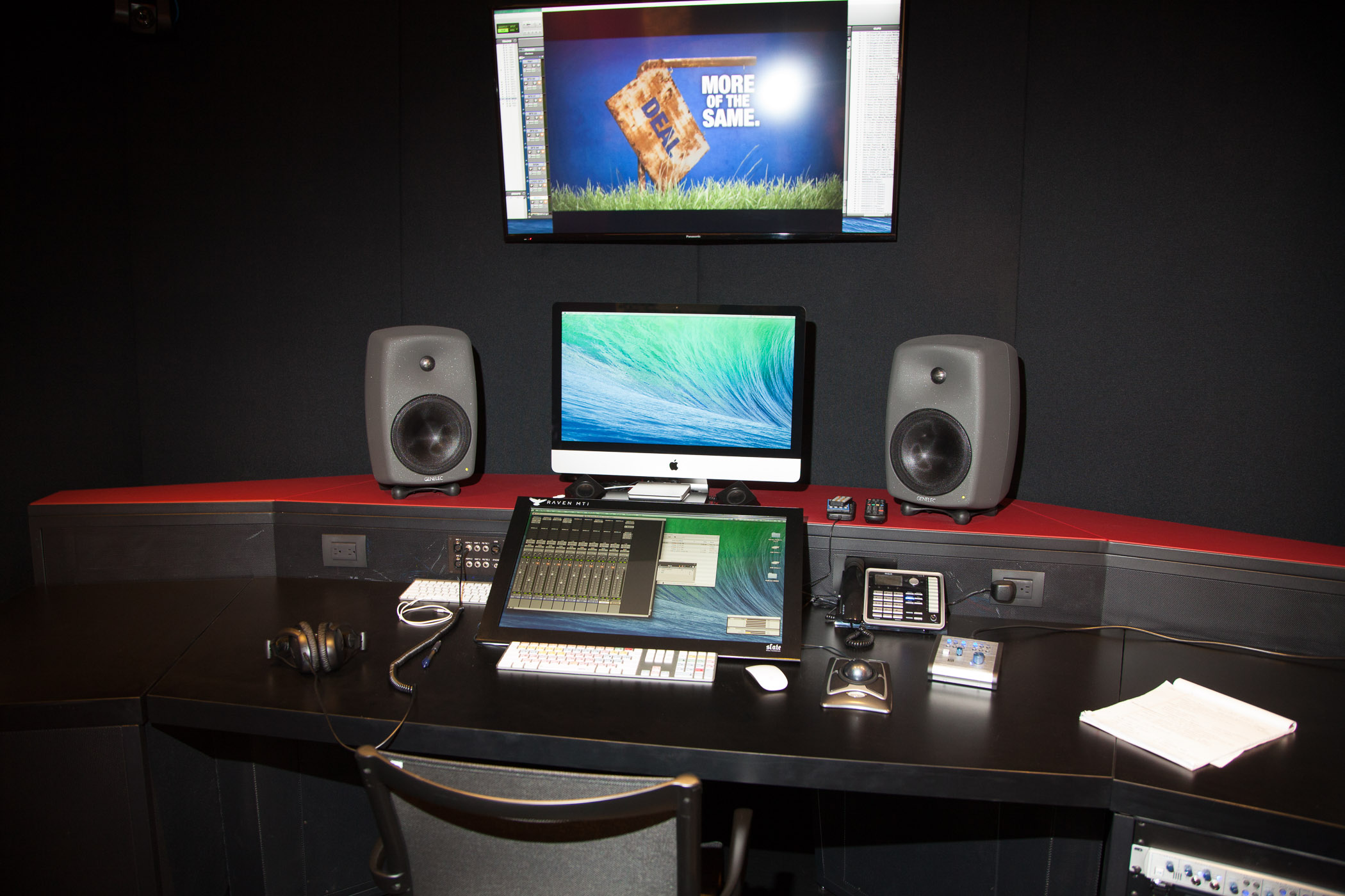 Arlington Independent Media Audio Production Suite